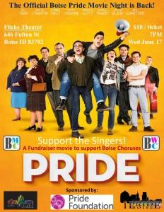 Pride Movie Night Flyer 8.5X11